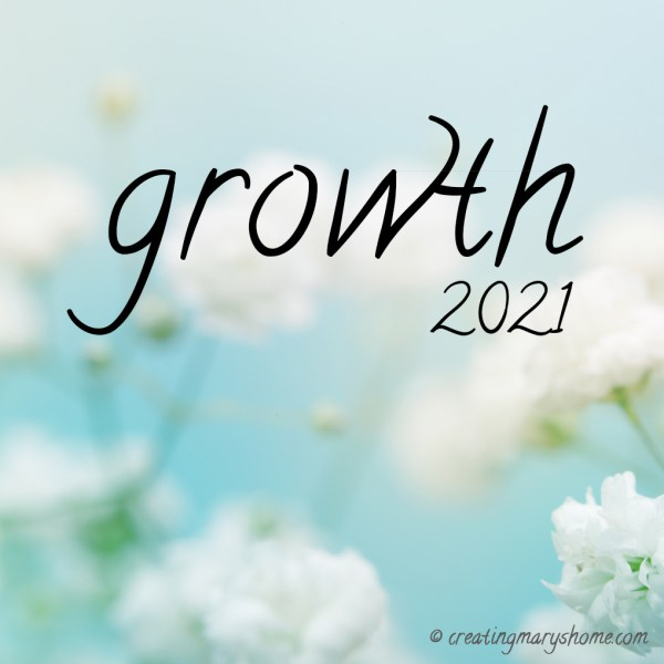 2021: The Year of Growth