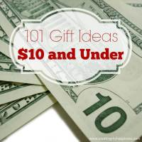 101 Gift Ideas $10 and Under