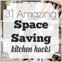 31 Amazing Space Saving Kitchen Hacks