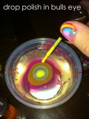 t. # 82 tie dye nails
