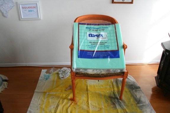 new chair cushion