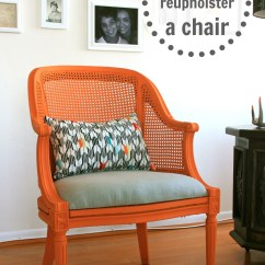 Upholstering A Chair Kitchen Table 6 Chairs How To Reupholster Infarrantly Creative
