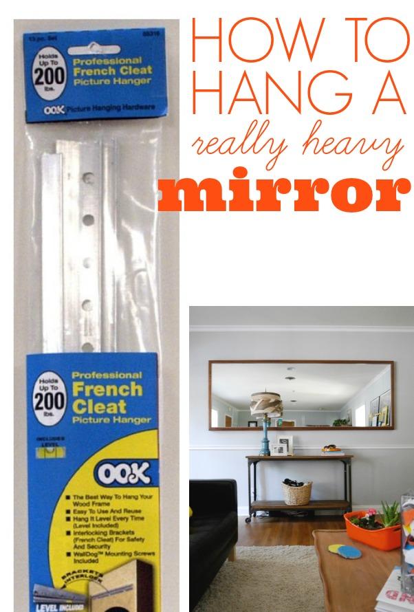 Hanging Heavy Pictures : hanging, heavy, pictures, Heavy, Mirror, C.R.A.F.T.