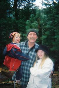 bruce with his grandchildren
