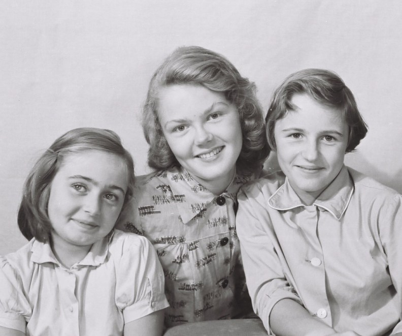 I was the youngest of three sisters