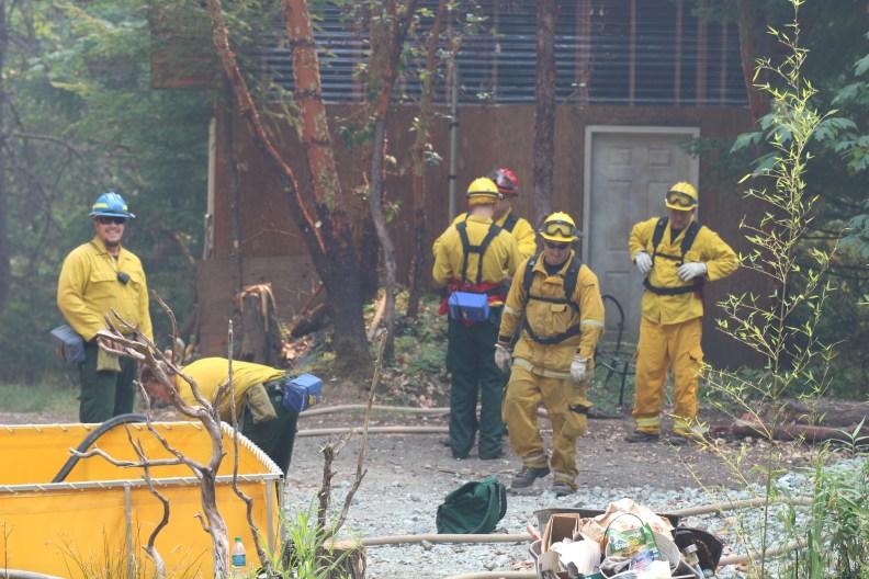 fire crews in Azalea oregon