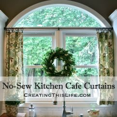 Kitchen Cafe Curtains Ninja Mega System 1500 Recipes No Sew Creating This Life Title