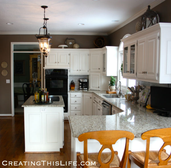 Space Above Kitchen Cabinets: That Space Above The Cabinets · Creating This Life
