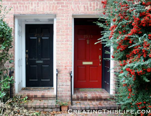 Georgetown doorways