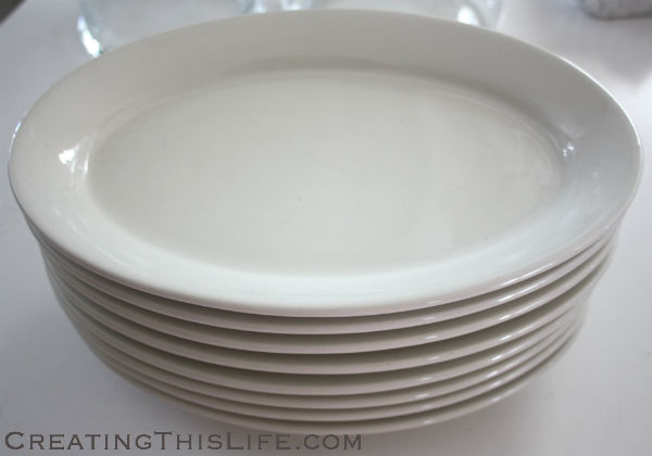 steakhouse plates