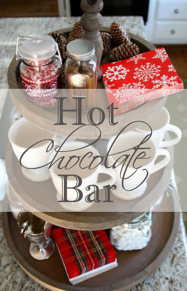 Tiered Hot Chocolate Bar