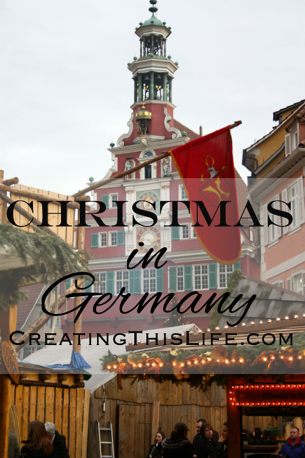 Christmas in Germany at CreatingThisLife.com