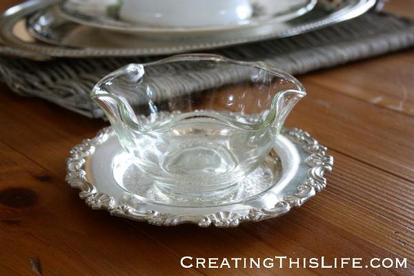 Clear Wavy Glass Bowl