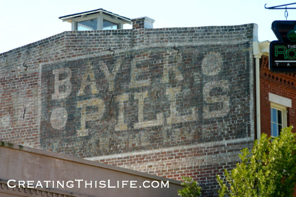 Savannah Bayer Pills Ghost Sign