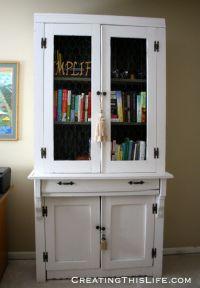 Furniture Idea: Wood Cabinets