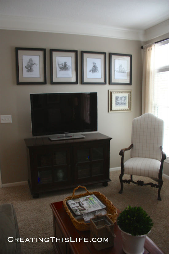 Family Room TV View