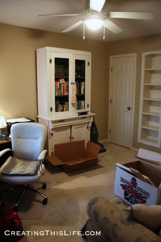 home office before picture
