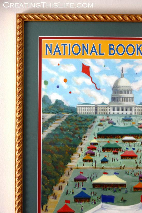 national book festival poster closeup
