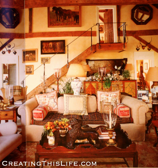 Bunny Williams Barn Room