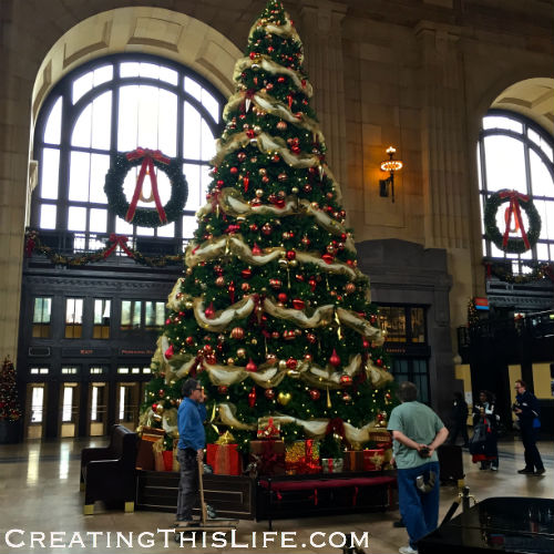 Christmas at Kansas City's Union Station