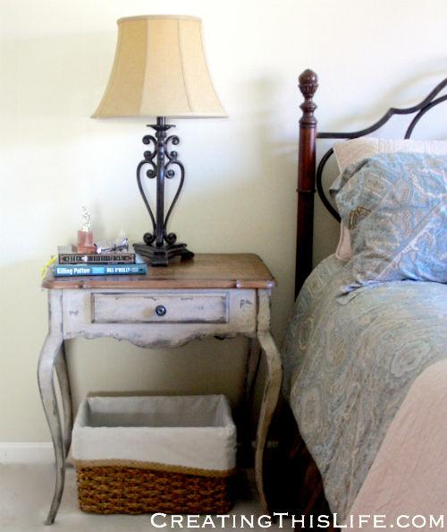 Master bedroom nightstands
