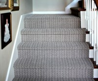 Herringbone Carpet Grey - Carpet Vidalondon