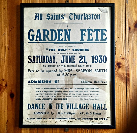 Framed English Vintage Poster