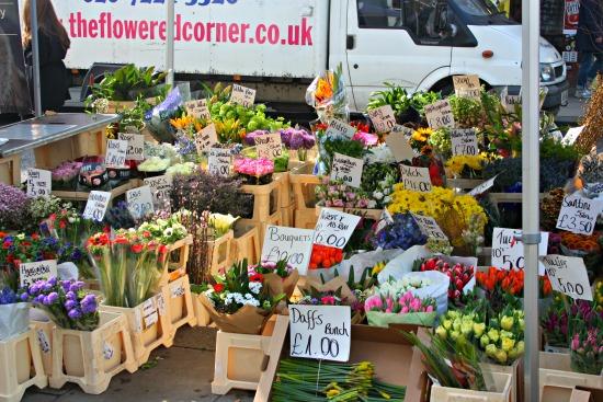 Portobello Road Flower Stand
