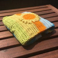Sunflower Baby Blanket  Creating Time