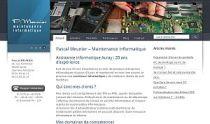 Site Web Maintenance informatique Auray