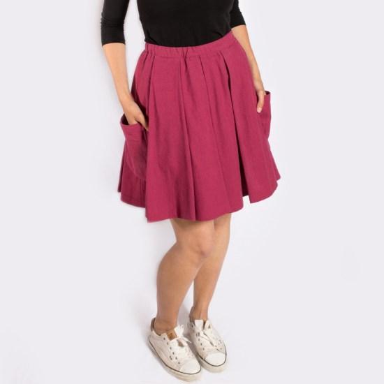 NATI - créations d'une rêveuse | Créatrice de mode | Annecy & Villaz | Boutique | Jupe Angèle - Hors Série - Modèle Éco-responsable