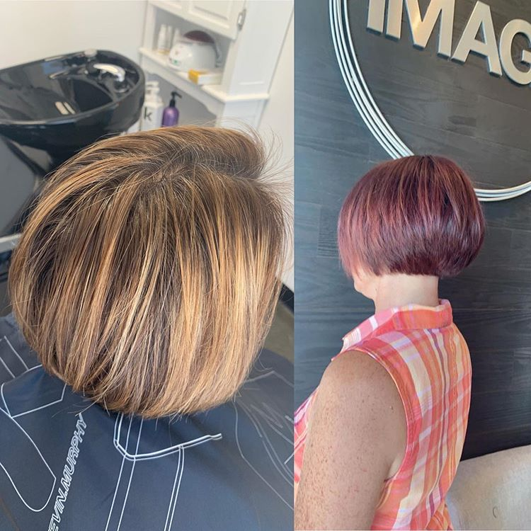 Color and haircut in Greenville SC