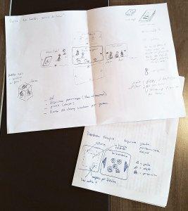 Prises de notes Fortress Escape