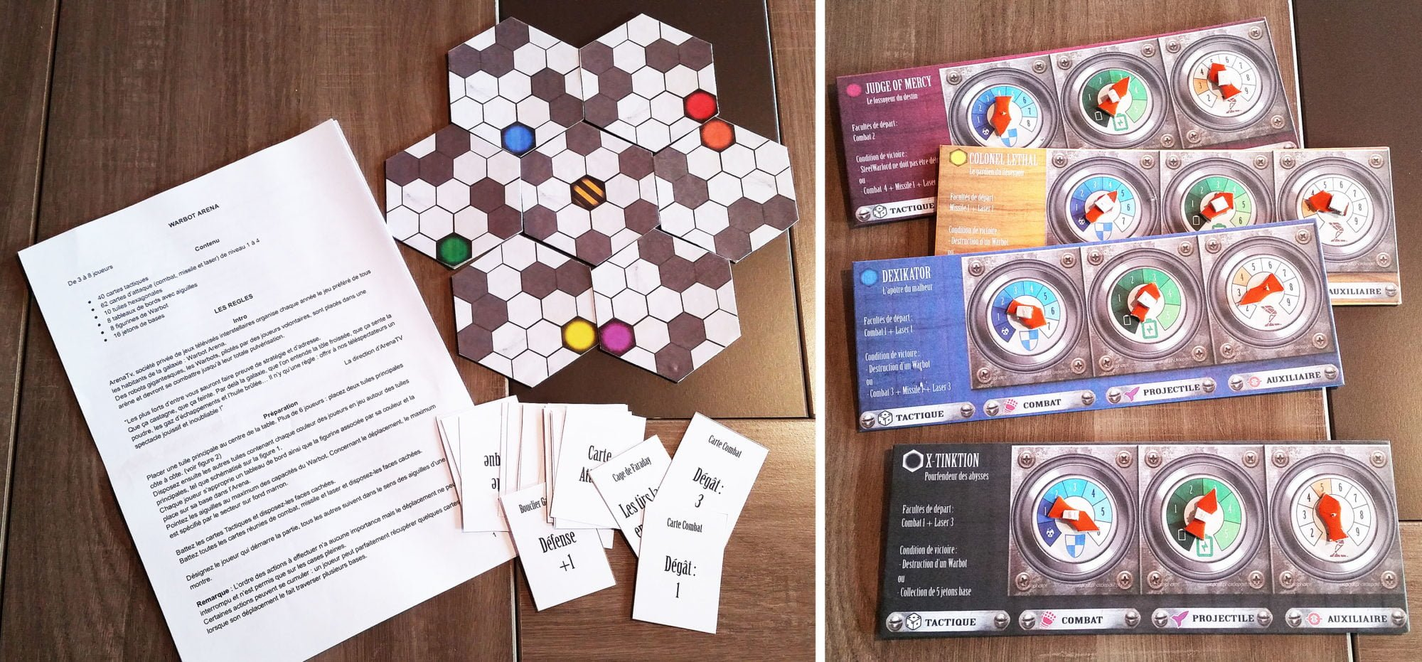Second prototype du jeu Warbot Arena