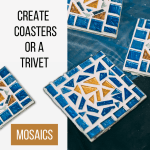 Mosaic Coasters Or Trivet Creation Nation