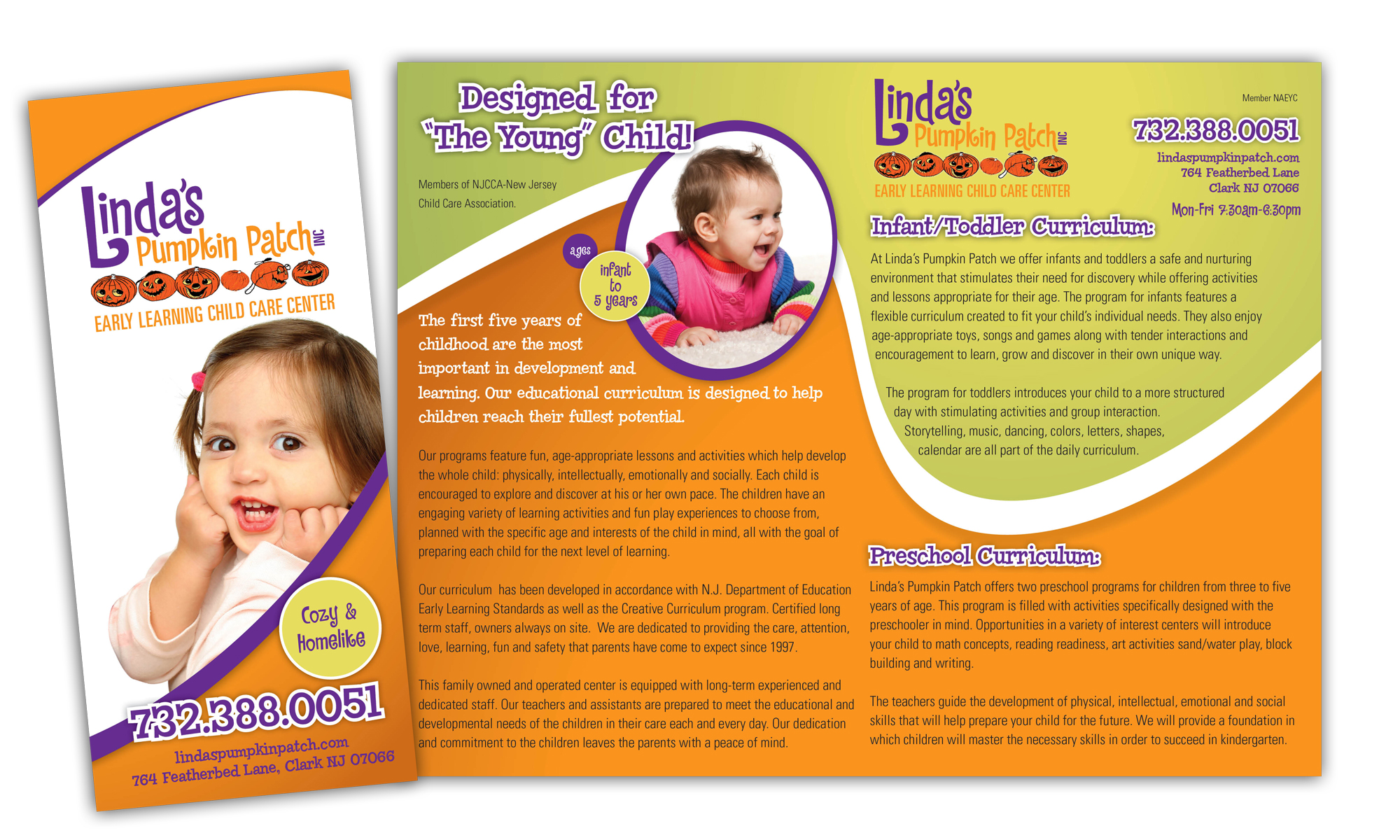Daycare Brochure Ideal Vistalist Co