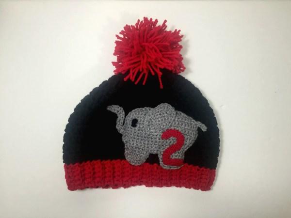 Black delta hat