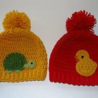 Turtle Duck Hats