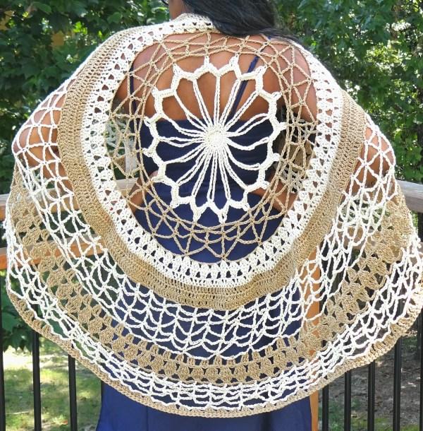 Flower Mandala Back 1