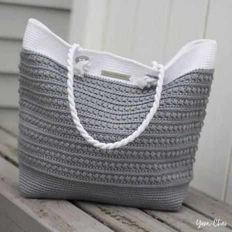 Malia Crochet Bag by Yarn + Chai