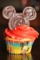 Cupcake Disney Rouge