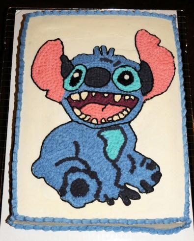Gâteau de Stitch