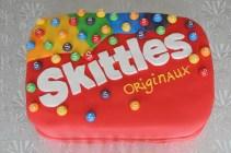 Gâteau Skittles
