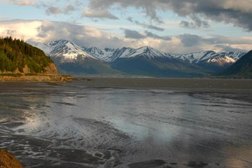 Turnagain Arm, Anchorage, AK: Photo Credit Frank K.