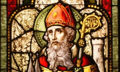 Saint Patrick Stained Glass Window