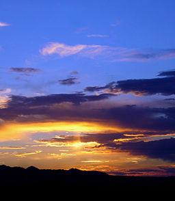 Clear Evening Sky