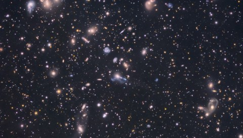Hubble Deep Space Galaxies