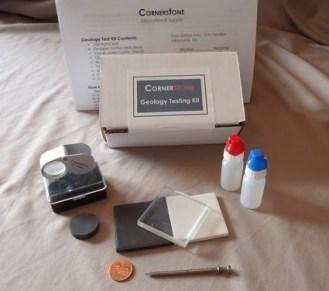 Geology Testing Kit