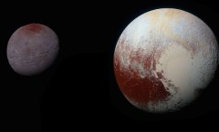 NASA: Pluto and Charon composite