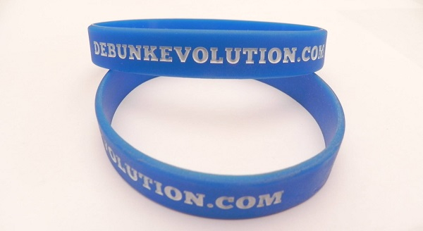 Debunk Evolution wristbands
